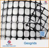 Polypropylene material Geogrid biaxial do reforço da estrada exportado para América Latin