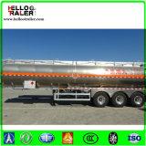Edelstahl-Rohöl, das Kraftstoff-Tanker-LKW-Schlussteil transportiert