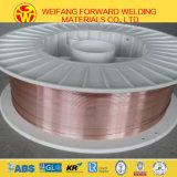 Golden Bridge Fabricante 0.8mm 15kg / Spool Sg2 Er70s-6 CO2 Copper MIG Welding Wire for Welding