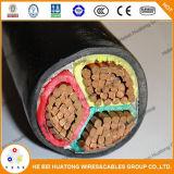 3 câbles électriques de PVC de faisceaux de Manufactor expérimenté
