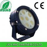 18W IP65 (JP83266)가 3 색 LED 조경 정원에 의하여 점화한다