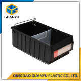 Heißer verkaufender Plastikspeicherregal-Kasten mit Plastikteilern (PK4214)