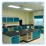 Banc d'évier de laboratoire en métal d'armature en acier