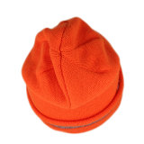 برتقاليّ أكريليكيّ نمط شتاء يحبك [بني] غطاء