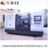Torno personalizado profissional do CNC com o protetor cheio do metal (CK64160)