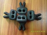 piezas de la impresión 3D con el material plástico