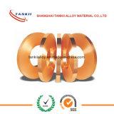 Bande/bande/clinquant/bobine de cuivre pure/fil plat/fil 0.6mm*75mm