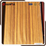 Tranche en tranches 0.32mm Recon Teak Veneer for Decoration