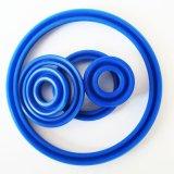 Уплотнения PU гидровлические с голубым цветом