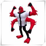 Ben10 mascote do personagem de banda desenhada dos braços dos estrangeiros quatro para a venda