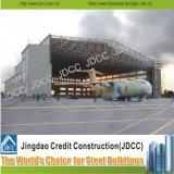 Hangar prefabricado de alta calidad de los aviones de la estructura de acero