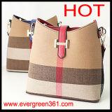 Señora de cuero Handbag del diseñador de 2014 de la manera mujeres de los bolsos