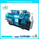 Compresor de aire marina de tres fases de alta presión de la refrigeración por agua de la compresión
