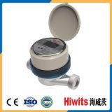 Medidor de água eletrônico de controle remoto sem fio para a água fria