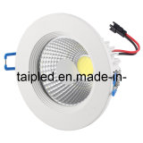 COB Dimmable LED Downlight encastré LED Downlight 5W/7W/12W