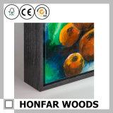 ピリオドの木製の絵画フレームの2つのカラー感覚
