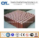 Cilindro de gas del acero inconsútil del dióxido de carbono del argón del nitrógeno del oxígeno ISO9809