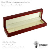 Rectángulo de joyería de madera popular al por mayor de Hongdao para Necklace_D