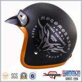 Capacete Matte da motocicleta de Harley da forma/capacete aberto da face (OP216)