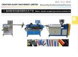 Haltbare einzelne Schrauben-Plastikextruder für die Herstellung der gewölbten Rohrleitung