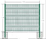 Сваренная загородка панели провода/ограждать Nylofor 3D