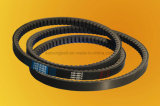 EPDM Rubber Raw Edge Cogged V Belt para ônibus europeu