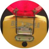 6つのLEDの乾電池の道路閉塞ライトランプ(BL-1)