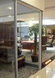 オフィスのための単一ガラスの隔壁