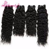 100%のカンボジア人の毛の織り方の自然な波のRemyの人間の毛髪の拡張