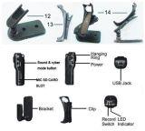 A câmera minúscula do mini gravador de vídeo de DV HD ostenta o caso impermeável Md80