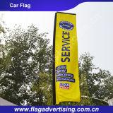 Флаг пляжа упорного Washable полиэфира погоды изготовленный на заказ, рекламируя печатание флага