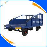 Carro da bagagem para o equipamento de sustentação à terra da aviação