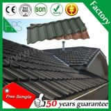 600ksh type classique tuiles de toiture enduites en métal de pierre