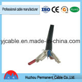 Rvv ha isolato 1.5 millimetri quadrati di cavo rotondo elettrico 300V