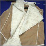 Pelliccia d'imitazione del Faux delle lane per la signora Coat Warm Winter Jacke