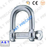 Hardware de Barco / Ferragens para Barcos / 316/304 Stainless Steel European D Shackle Parts