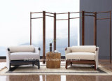 Restaurant oriental d'hôtel dinant la présidence en bois de meubles