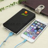 Da bateria impermeável do USB do Portable do painel solar carregador solar para o banco Clip-on da potência do telefone de pilha