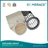 Saco de filtro não tecido do controle industrial do filtro da poeira