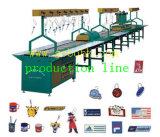 Linea di produzione automatica molle dell'iniezione del contrassegno/supporto del PVC