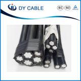 PVC/XLPE에 의하여 격리되는 ABC/ACSR 케이블