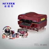 Máquina de impresión multi-funcional de prensa de transferencia de calor 3D