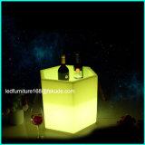 Ontwerp van Furnitures van de Decoratie van de Staaf van de LEIDENE het Verlichte Grote Emmer van het Ijs