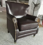 새로운 도착 가죽 의자, 안락 의자, 단 하나 소파 의자 (A888)