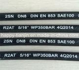 Zweidrahthydraulischer Gummihochdruckschlauch SAE-100r2at