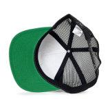 Os chapéus do camionista do vintage vendem por atacado 5 lados do engranzamento do tampão do painel