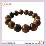 Pulsera del ojo del tigre, pulsera afortunada del ojo, pulsera del ojo del tigre de la cultura del Buddhism