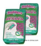 Sac de papier d'emballage d'impression offset pour des matériaux de construction