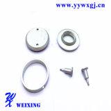Adaptateur hydraulique d'embout de durites de matériel en aluminium réglé de pièces d'OEM