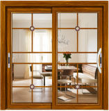 Раздвижная дверь Австралии конкурентоспособной цены стандартная алюминиевая двойная стеклянная